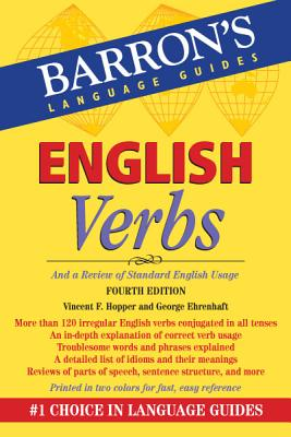 English Verbs By Hopper, Vincent F.